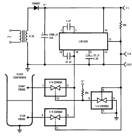 fluid level control schematic diagrams  hobby hour