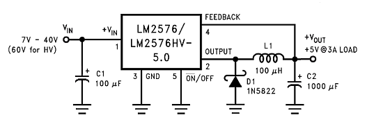 lm2576 switching regulator wiring diagrams u2022 rh autonomia co