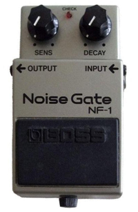 Boss NF 1 Noise Gate Guitar Pedal Schematic Diagram